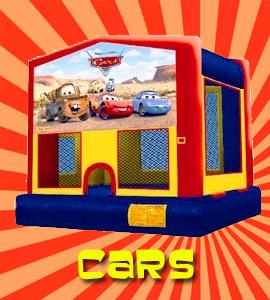 Pixar Cars bounce house