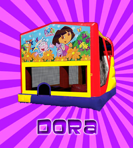 dora bounce house rental, mobile gaming parties clevleand, solon, hudson oh