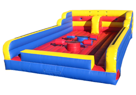 This is our inflatable joust arena for rent in the greater clevleand area