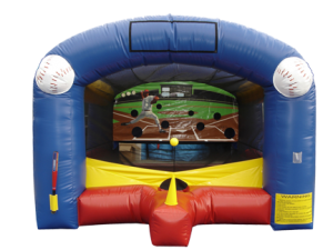 Inflatable Tee-ball carnival game